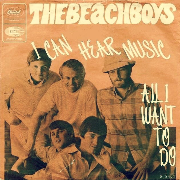 4 I Can Hear Music - The Beach Boys - Jeff Barry