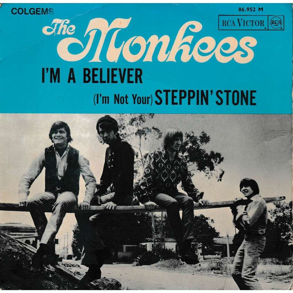 6 I'm A Believer - The Monkees - Jeff Barry